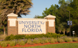 Photo of a University of North Florida sign. Link to Blog.